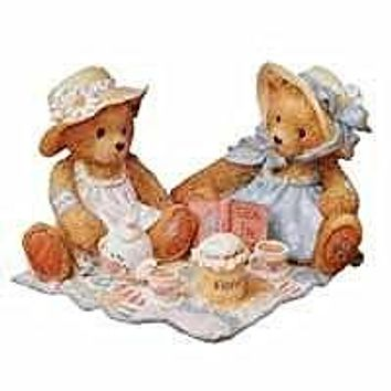 "Cherished Teddies ""Freda and Tina""--Our Friendship Is A Perfect Blend"