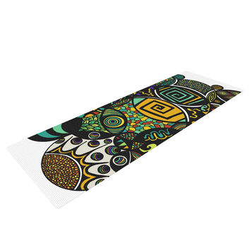 "Pom Graphic Design ""Multicolor Life"" Yoga Mat"