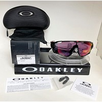 New Oakley JAWBREAKER Sunglasses OO9290-2031 MATTE BLACK / PRIZM ROAD