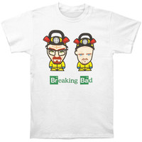 Breaking Bad Men's  Slim Fit T-shirt White Rockabilia