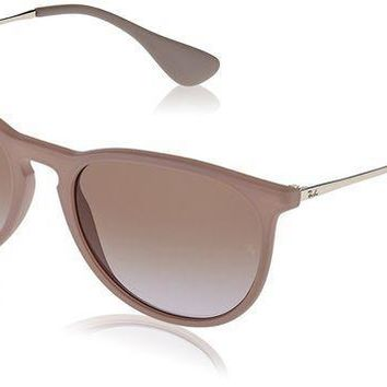 CREYDC0 Unisex-Adult Erika Aviator Sunglasses, DARK RUBBER SAND, 54 mm