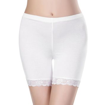 Safety Shorts Pants Lace Seamless soft and comfortable cotton material boxer safety pant for women pantiesant for women panties