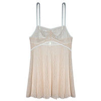 Petal Play Babydoll in Peony | Luxurious Peach Lace Lingerie | Between the Sheets Fine Intimates