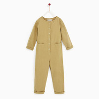 WORKER JUMPSUIT Tan - 9 years (55,1 INCHES)