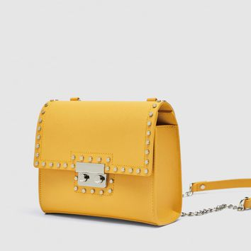 STUDDED CROSSBODY BAG