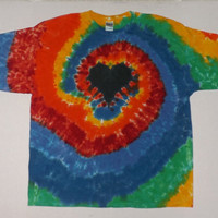 2XL Custom Tie Dye Shirt or Tank - Choose ANY Design and Any Color Combination