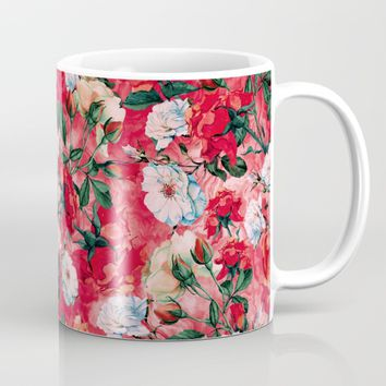 Rose Red Mug by RIZA PEKER
