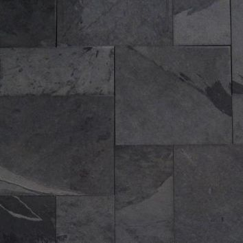 M. S. International Inc. Hampshire Slate Pattern Natural Gauged Floor and Wall Tile (16 sq. ft./case)-SMONBLK-ASH-3-G at The Home Depot