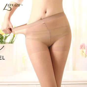 New 15D 4 Colors Female stockings Sexy  women's Tights Silk Thin solid Pantyhose for woman skin brown Seamless Pantyhose