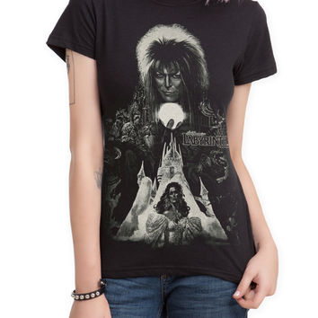 Labyrinth Castle Girls T-Shirt | Hot Topic