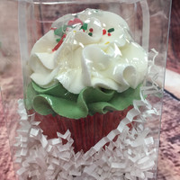 Merry Manhattan Cupcake Bath Bomb-Large