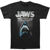 Jaws Men's  Lichtenstein Slim Fit T-shirt Black