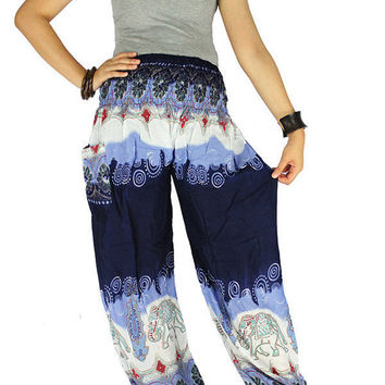 Yoga pants Harem pants Thai pants Hippie clothes Gypsy pants  Palazzo pants Hippie pants Elephant pants Elephant clothes