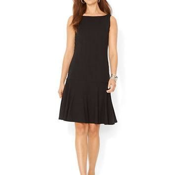 Lauren Ralph Lauren Petite Sleeveless Drop Waist Dress