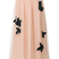 Red Valentino Tulle Layer Skirt - Farfetch