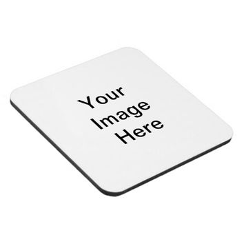 Design Your Own Photo Hard Plastic Cork Coaster