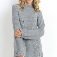 Reston Grey Sweater - FINAL SALE