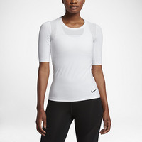 The Nike Pro HyperCool Women's Short Sleeve Training Top.