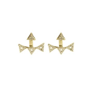 House of Harlow 1960 Jewelry Andes Pavé Ear Jacket