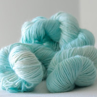 Ice Ice Baby -dyed DK weight yarn