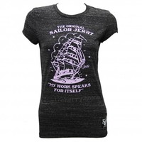 Women's Sailor Jerry Homeward Bound Norman Collins Logo T-Shirt