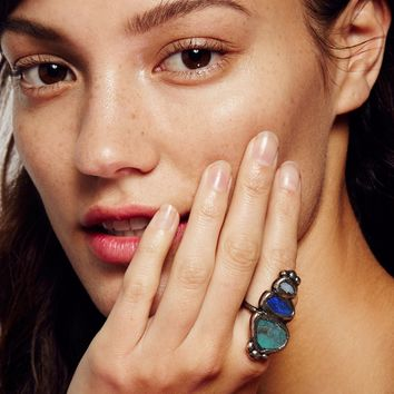 Free People Paradox Triple Opal Ring