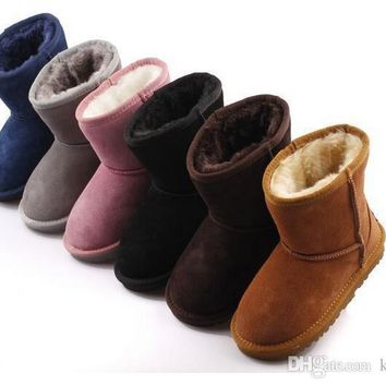 Hot sell New Real Australia ugg 528 High-quality Kid Boys girls children baby warm snow boots Teenage Students Snow Winter boots