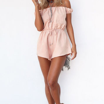 Mura  Maui SABO Skirt JUNE PLAYSUIT
