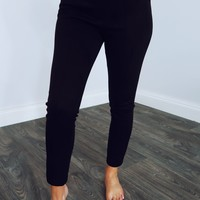 City Sleek Pants: Black