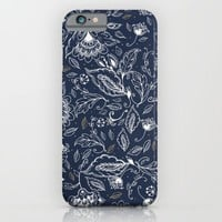 Blue Paisley iPhone & iPod Case by Rskinner1122