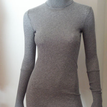 enza costa cashmere fitted turtleneck