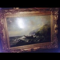 Rare signed 1877 oil Painting | Antiques | Gumtree Australia Rockingham Area - Warnbro | 1063148377
