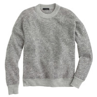 J.Crew Womens Brushed Mohair Boyfriend Sweatshirt