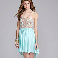 GB Sweetheart Lace Dress | Dillards.com
