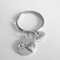 1 Aunt Pinky Promise Keychains Best Friends