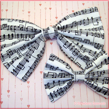 Music Note Bow
