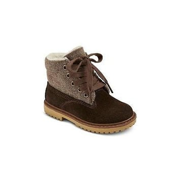 Toddler Boys' Dan Boots, 6, Brown Cherokee
