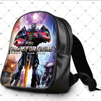 transformers rise of the dark spark School Bag
