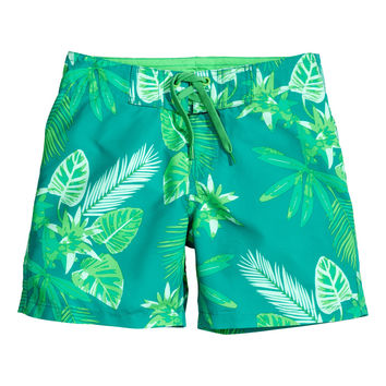 H&M - Patterned Swim Shorts -