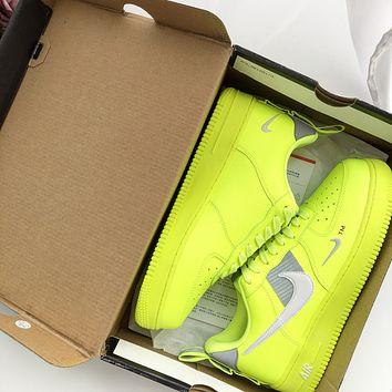 Nike Air Force 1 Low AF1 OW Sport Shoes Sneakers