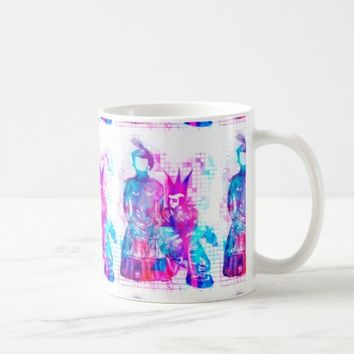 Cotton Candy Goth Girl and Punk Dude Coffee Mug