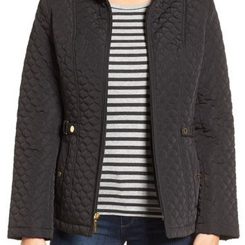QUILTED SCUBA JACKET