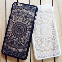 Vintage Lace Floral iPhone se 5S 6 6S 7 iPhone 7 6 6s Plus Case Cover + Gift Box