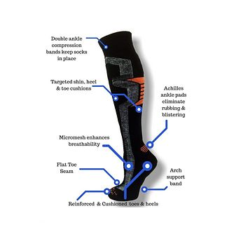 Ski & Snowboard Over-the-Calf Socks