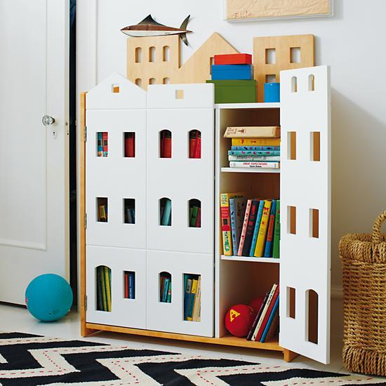 brownstone bookcase from the land of nod story time. Black Bedroom Furniture Sets. Home Design Ideas