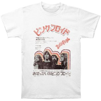 Pink Floyd Men's  T-shirt White