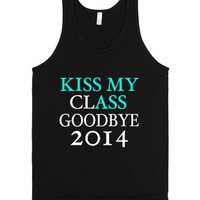 Kiss My Class Goodbye 2014 Tank-Unisex Black Tank