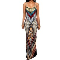 African inspired Maxi Dress