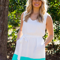 Touch of Turquoise Dress