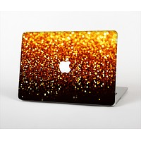 The Faded Gold Glimmer Skin Set for the Apple MacBook Air 11""